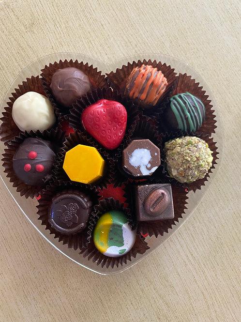 Love Heart Truffle Box