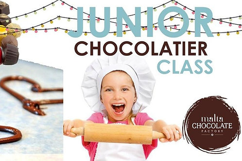 VOUCHER FOR TWO JUNIOR CHOCOLATE MAKING CLASSES