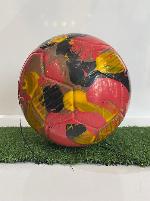 Chocolate Football Black, Red & Yellow