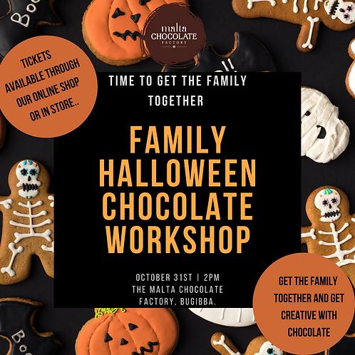 Family Halloween Chocolate Workshop