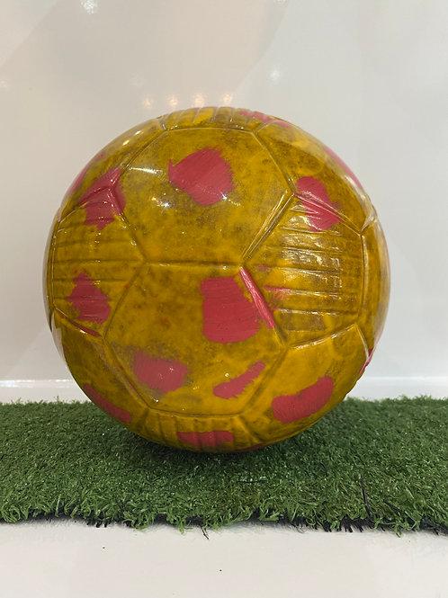 Chocolate Football Red & Yellow