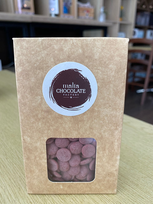 100g Ruby Chocolate Pastelles