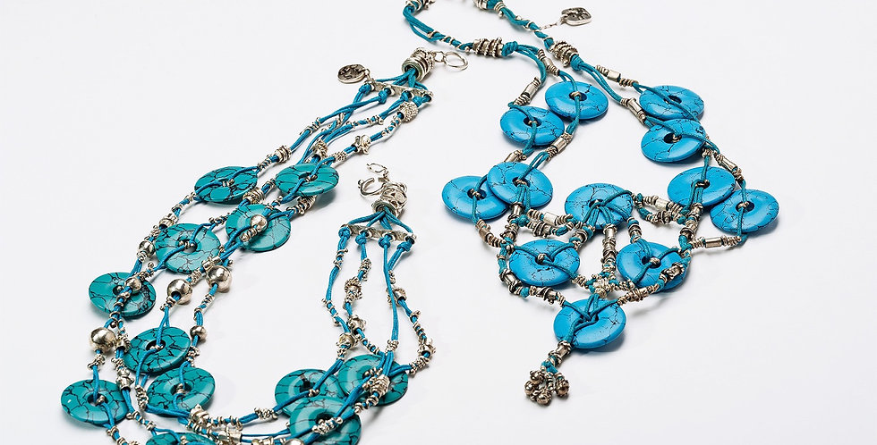 Traripel Turquoise Necklace