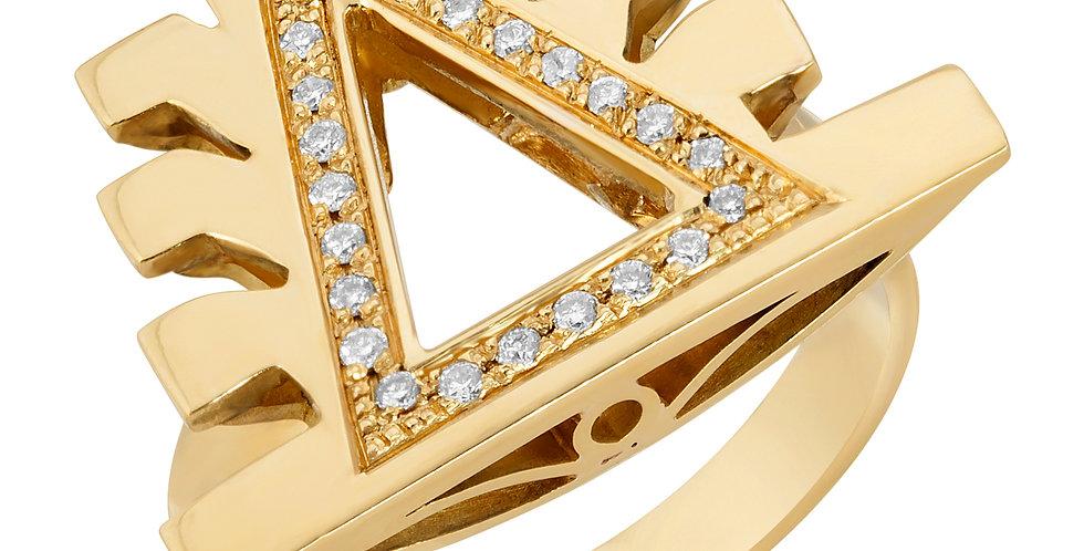 SIGNET DIAMOND RING