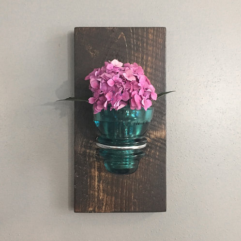 Insulator Wall Sconce -Turquoise