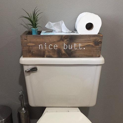 'Nice Butt' Toilet Caddy