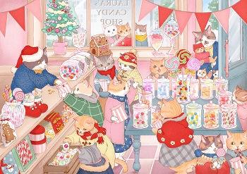クリスマスのキャンディショップ正.jpg