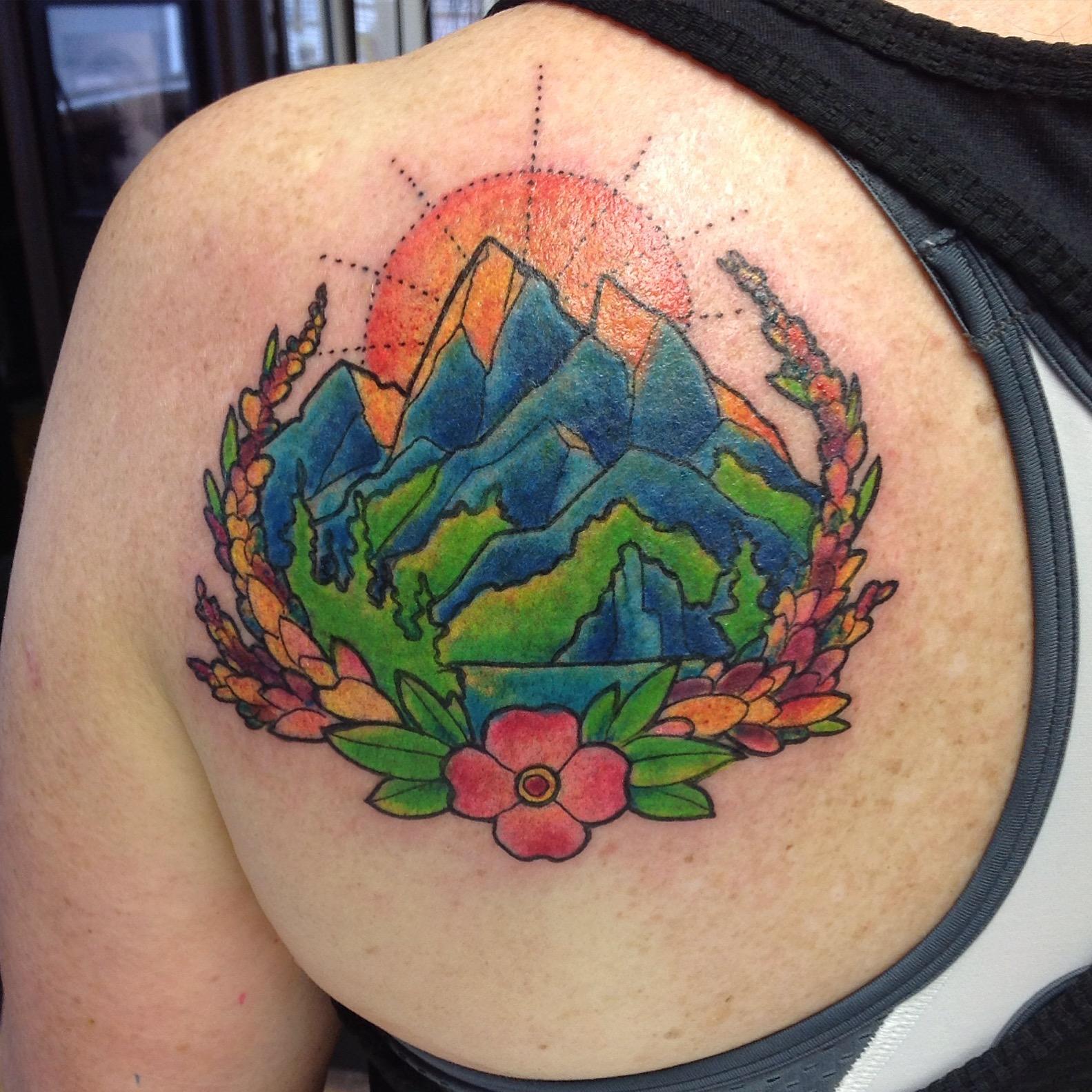 Tattoos by Rick Dobran