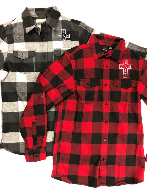 Plaid Flannel East Van Shirts
