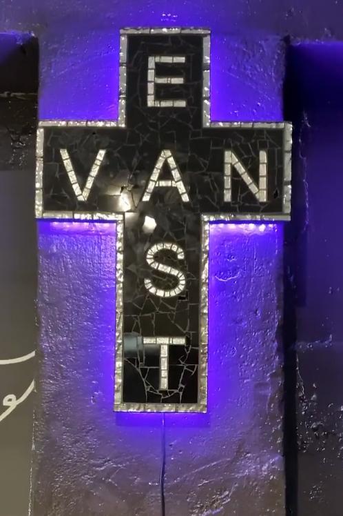 Light-Up Ceramic Cross