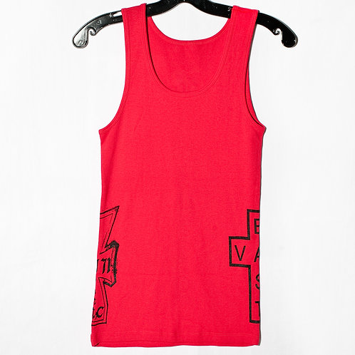 Famiglia Fitted Tank Top