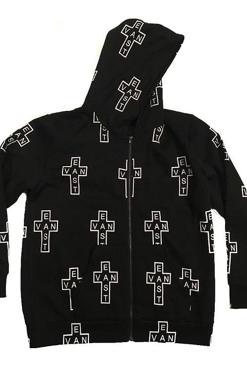 All Cross East Van Zip-Up Hoodie