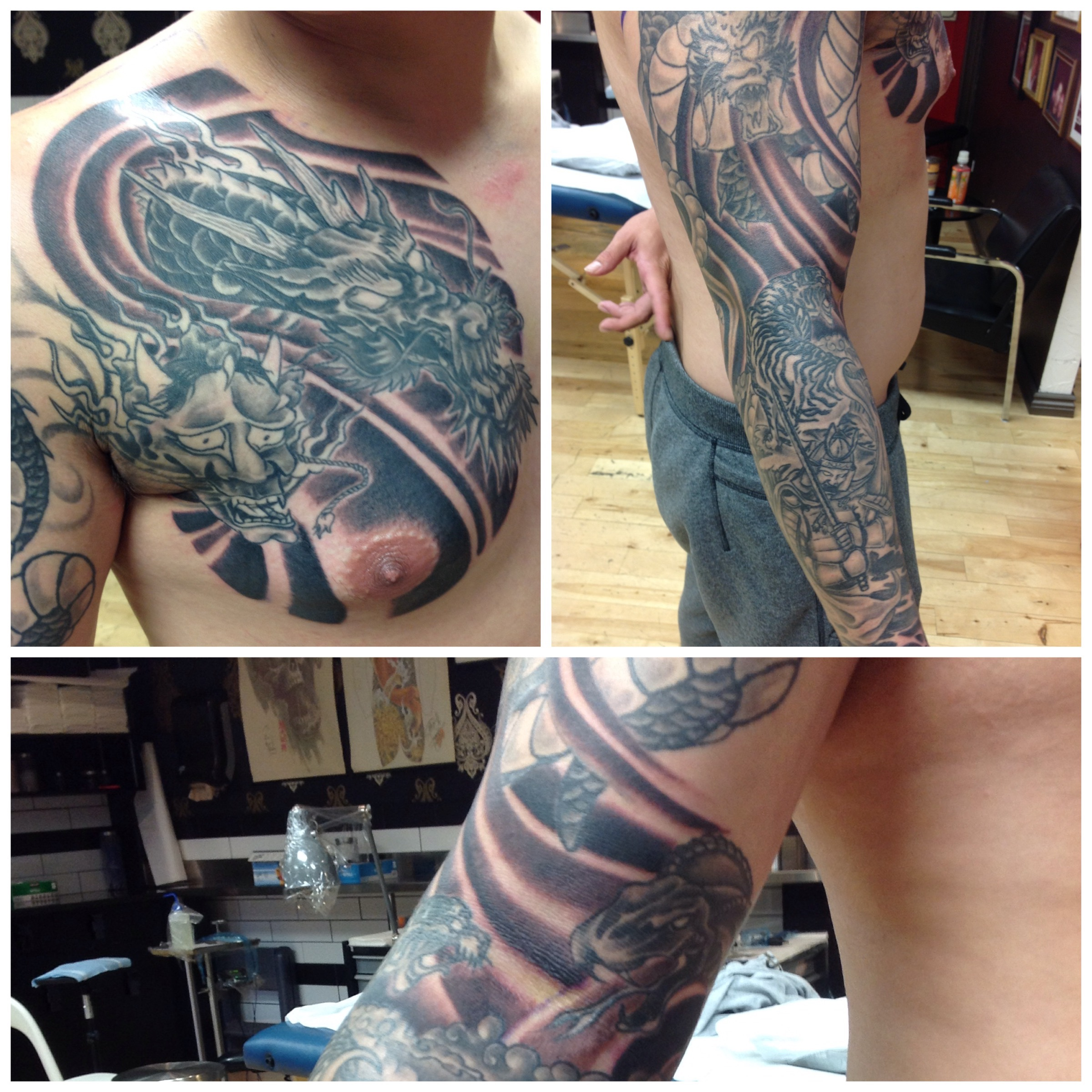 Tattoos by Phil Terris