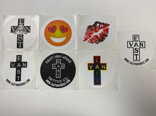 East Van 7 Sticker Pack