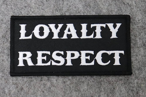 Loyalty Respect Patch