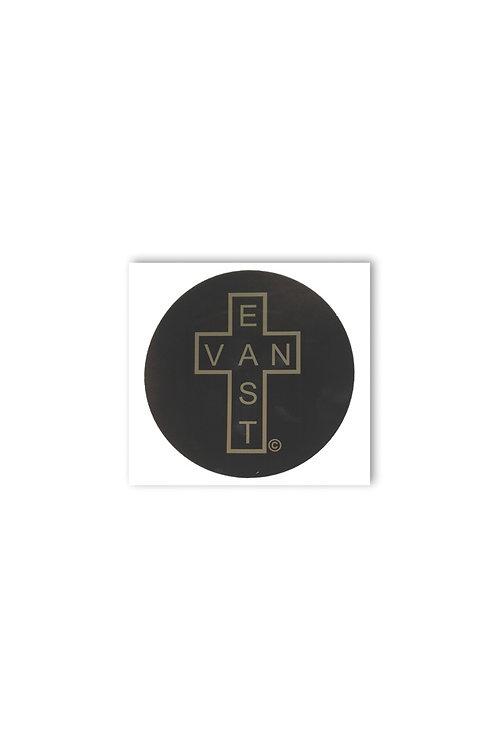 East Van Circle Sticker