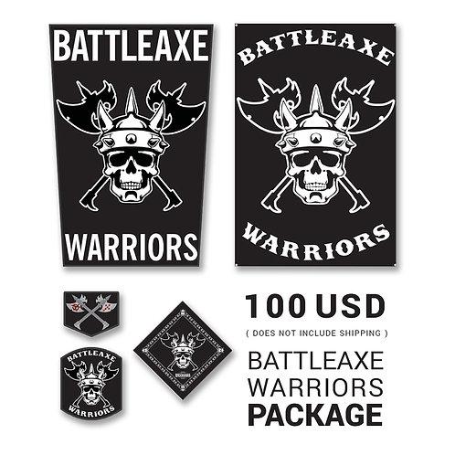 Battle Axe Warriors Package (Global Member Only)