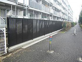 都営稲城第2アパート 柵改修工事
