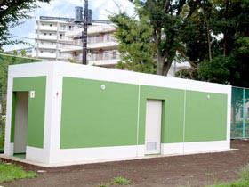 ひばりが丘総合運動場 トイレ建設工事