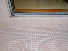 浴室床嵩上げ工事