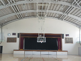 東久留米市立南中学校 体育館バスケットボール耐震化工事