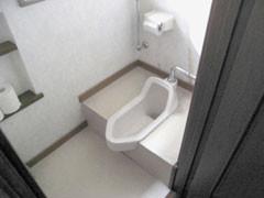 トイレ便器改修工事