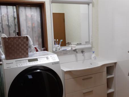 2020年10月 西東京市 H邸 洗面室改修工事