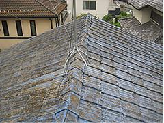 屋根瓦交換工事