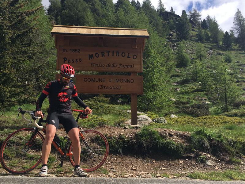 salatissmo - bike Passo Mortirolo