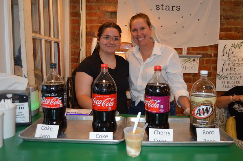 Milky Moo's Soda Floats!