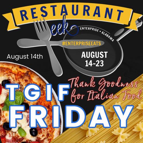TGIF Friday! August 14th