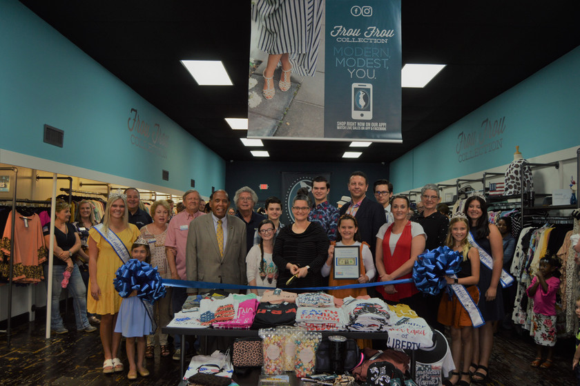 Frou Frou Collection Ribbon Cutting