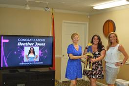 Ambassador of the Month, Heather Jones w