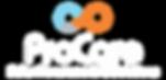 White Logo Procare Solar Procurement & S