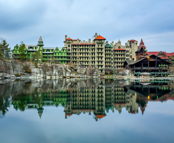 Mohonk Mountain House Reflection