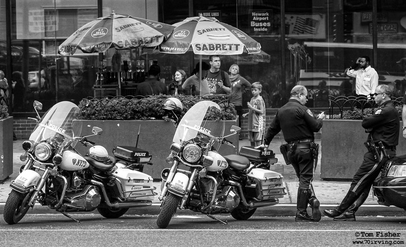 NYC Motorcycle Cops