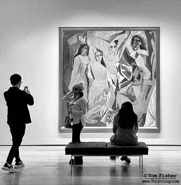First Picasso Cubist Work
