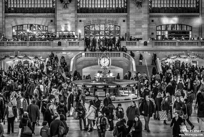 Grand Central Xmas Eve Day