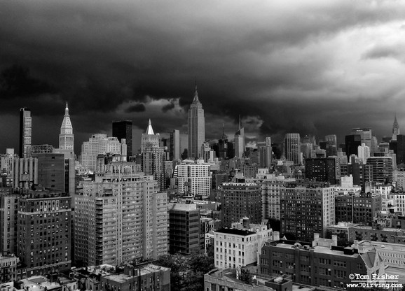 Storm over Manhattan