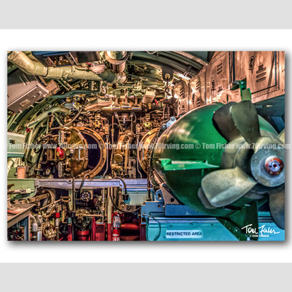 USS Growler Aft Torpedo Room