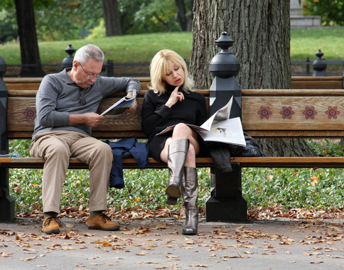Reading in Central Park