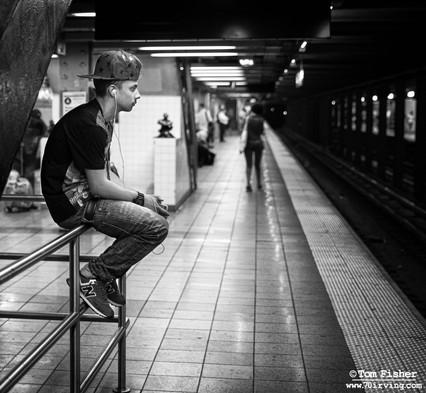 Cool Subway Dude