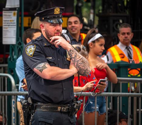 Detective in Uniform