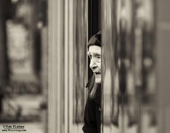 Despair in a Doorway