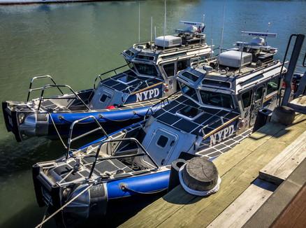 NYPD Patrol Boats