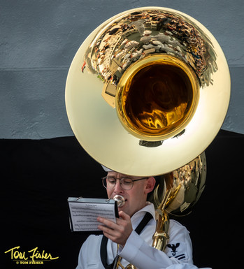 Navy Band on Deck