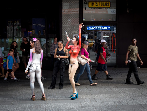 Times Square Nudes