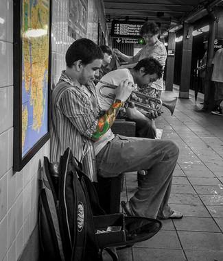 Subway Trumpeter