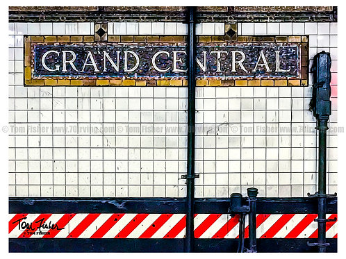 Original NYC Subway Tile Work