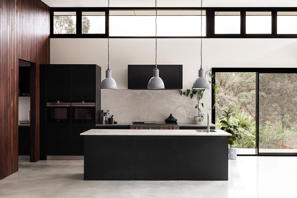 Nyaania Creek Darlington Residence – The minimalist kitchen